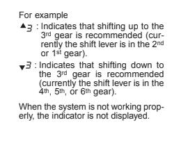 Elantra GT Manual Trans - Downshift Indicator Not Working