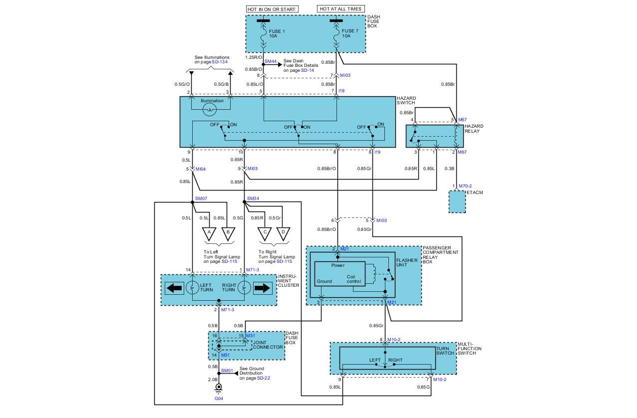 2003 Hyundai Accent Hazard Wiring Diagram 2005 hyundai ... on kia spectra fuse box, kia sportage fuse box diagram, kia accessories, kia rio fuse box,