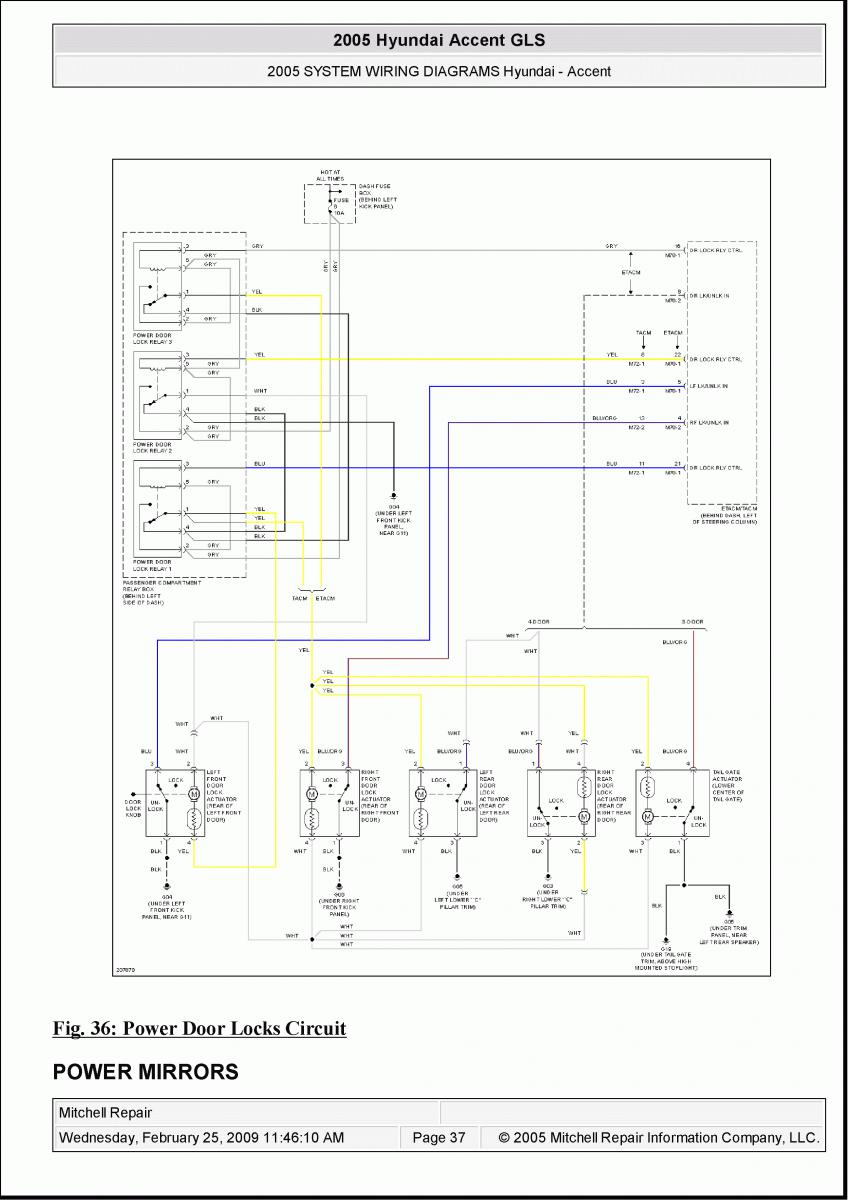 2005 Accent Wiring Diagram