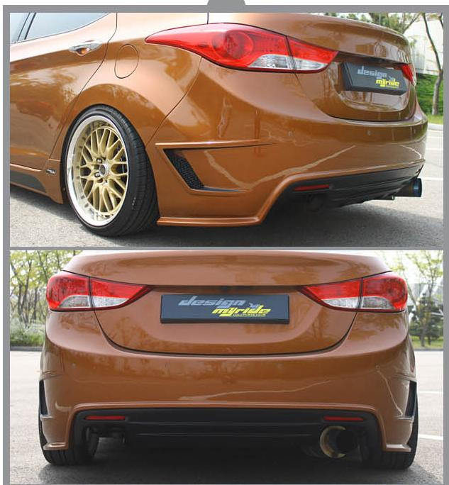 Aggressive Lowering Of An MD Elantra
