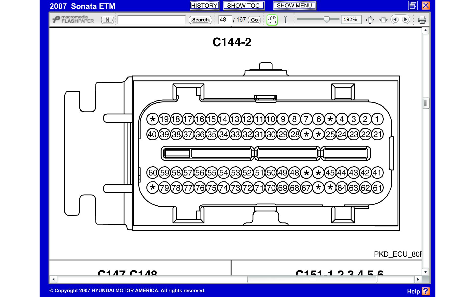 Ecu Wiring Diagram Hyundai