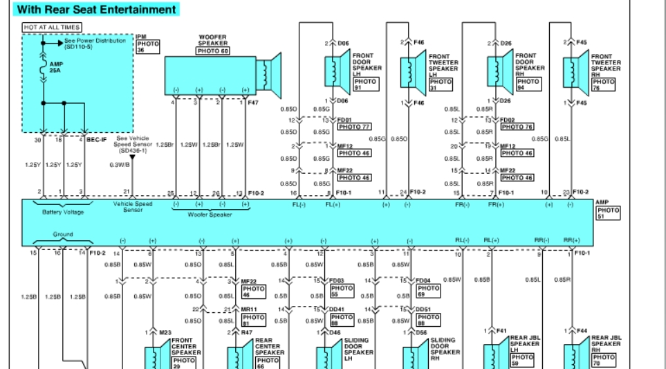 2007 Hyundai Entourage Wiring Diagram Ford Wire Harness Color Code For Wiring Diagram Schematics