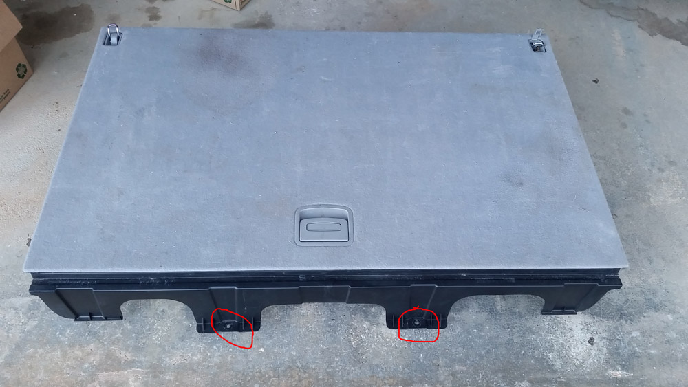 Need help removing rear cargo compartment on 2007 Santa Fe