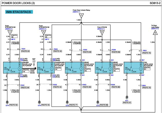 I10 Wiring Diagrams For Remote Controlled Door Lock Hyundai Forums