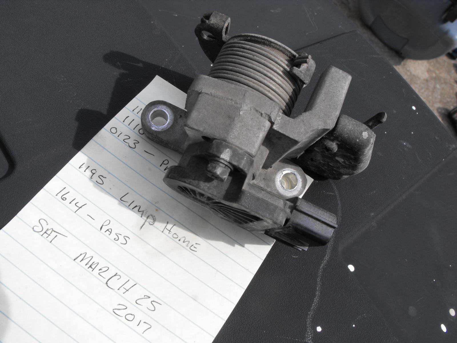 Santa Fe 2004 ETS codes - need new Throttle body? | Hyundai