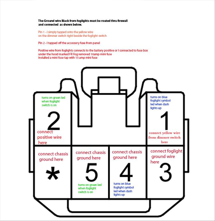 Oem Fog Light Switch Wiring Diagram? | Hyundai Forums