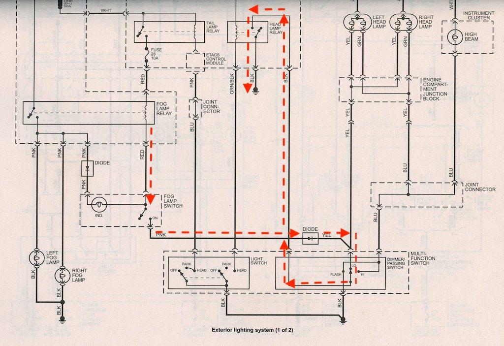 Fog lights not working after bulb replacement | Hyundai Forums | Hyundai Accent Fog Light Wiring Diagram |  | Hyundai Forums