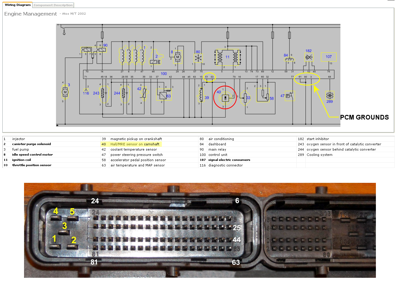 Atoz camshaft wiring and voltage (P0343) | Hyundai Forums | Hyundai Amica Wiring Diagram |  | Hyundai Forums
