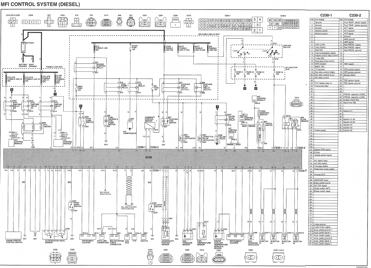 Hyundai Santum Fe 2001 Engine Diagram Air