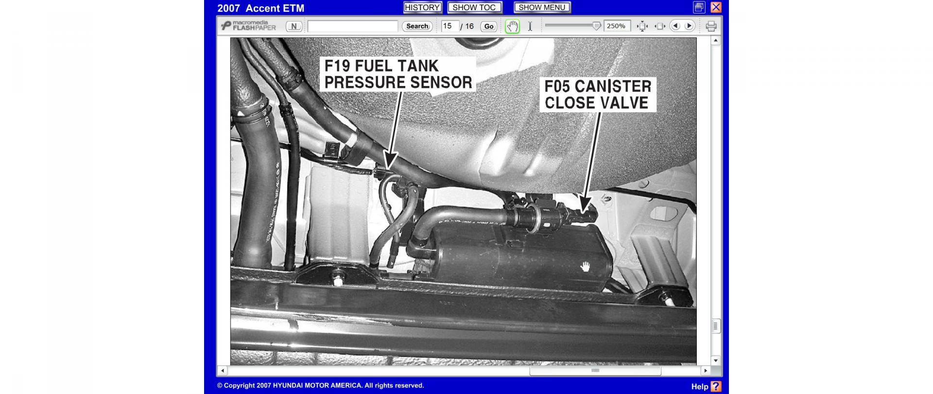Fuel Tank Pressure Sensor hose connections | Hyundai Forums