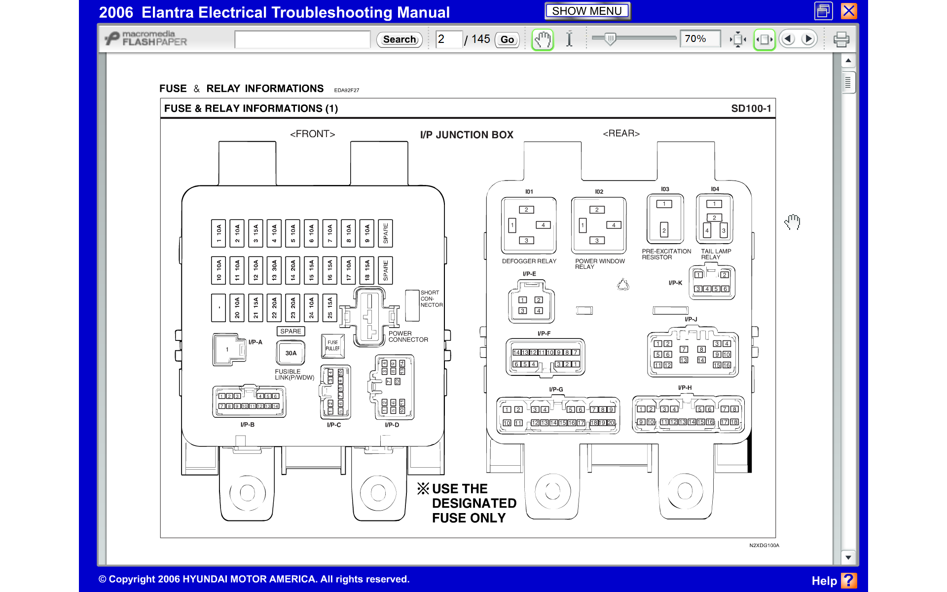 power windows stopped working | hyundai forums power window wiring diagram 03 elantra  hyundai forums
