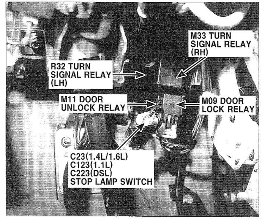 Diagram  Hyundai Getz Central Locking Wiring Diagram Full