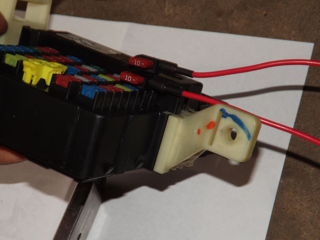 Sonata Se U0026 39 07  Parking Lights Stay On  Fuse Box Replacement