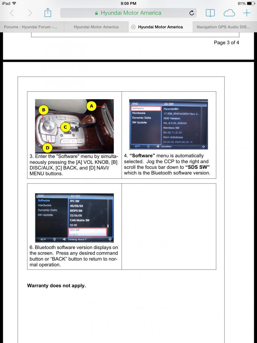 Elite I20 Avn Software Update
