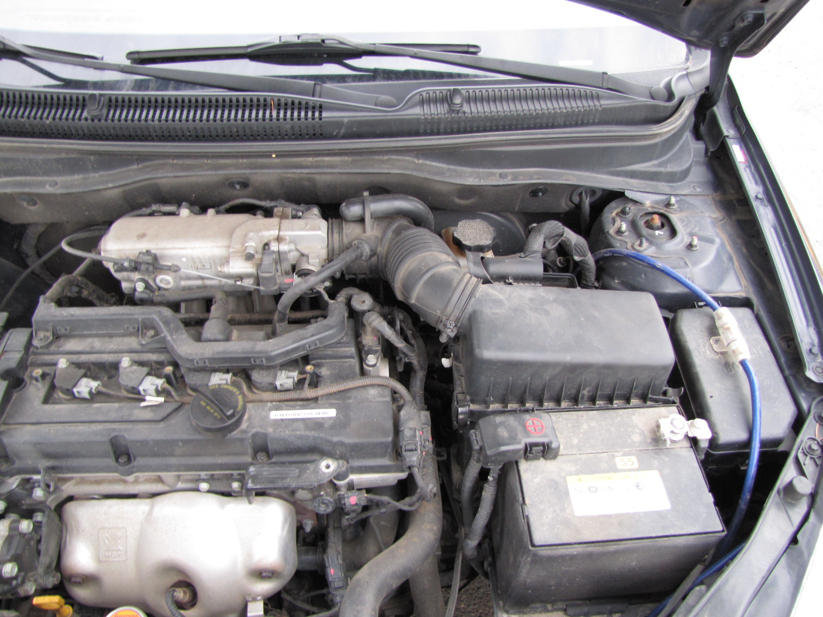 P0171 Lean Fuel Bank 1 - Trouble Starting   Hyundai Forums