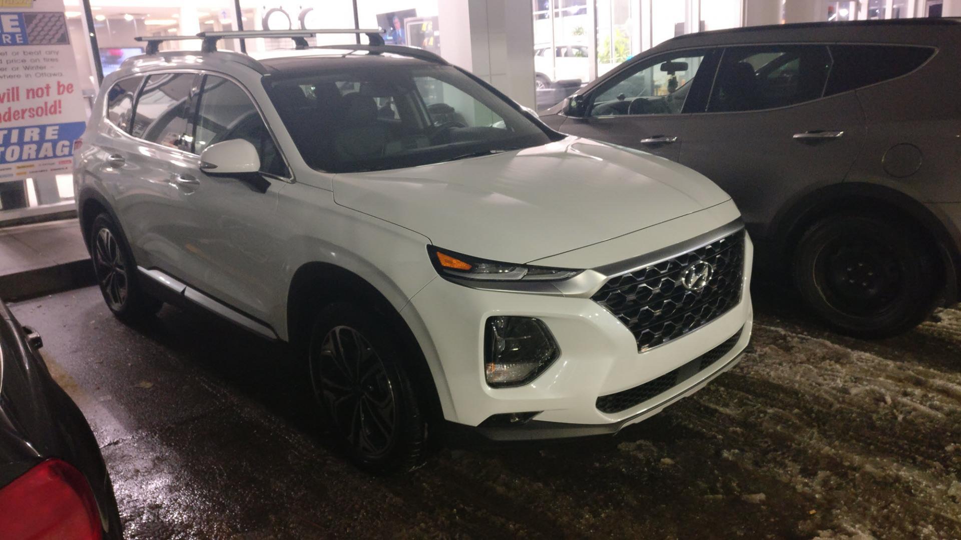8c8192826740 Crossbars (roof rack) for 2019 Santa Fe Ultimate?   Hyundai Forums