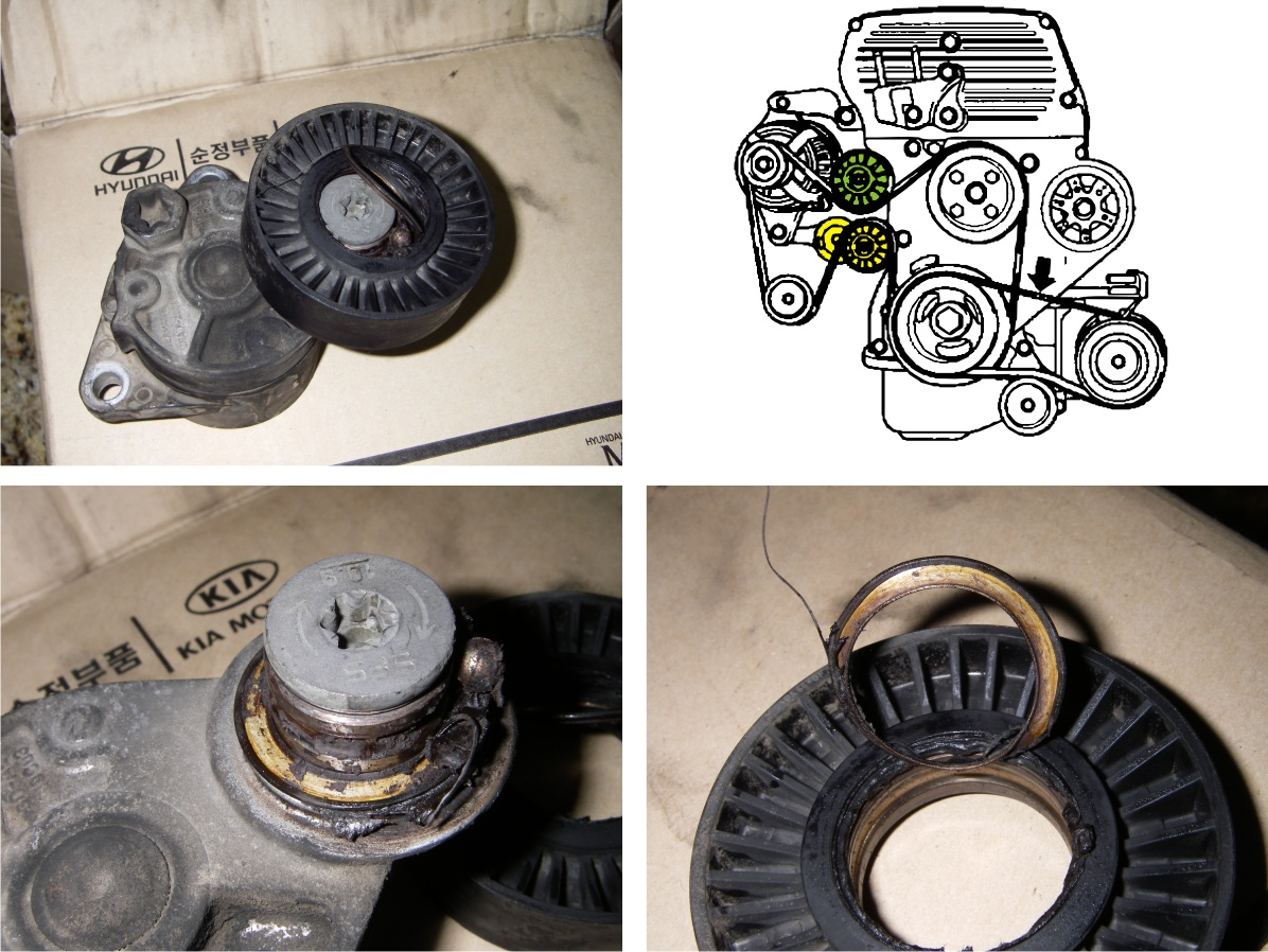 Warning for 2 9 crdi engine owners: Fan belt pulleys