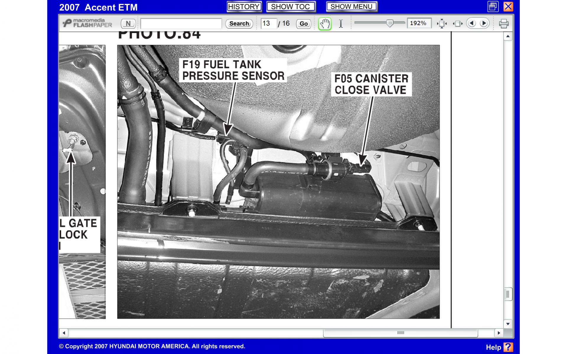 2009 hyundai evap diagrams vapor vent valve and evap canister location hyundai forums  vapor vent valve and evap canister