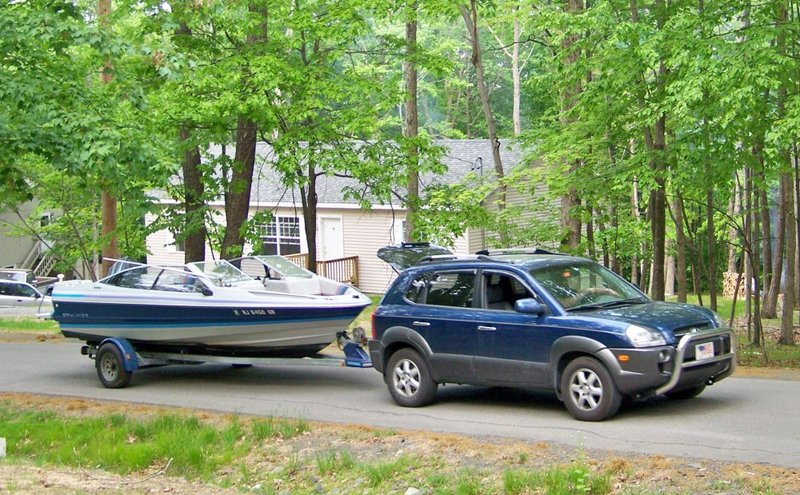 Towing My Boat With My Santafe Hyundai Forums
