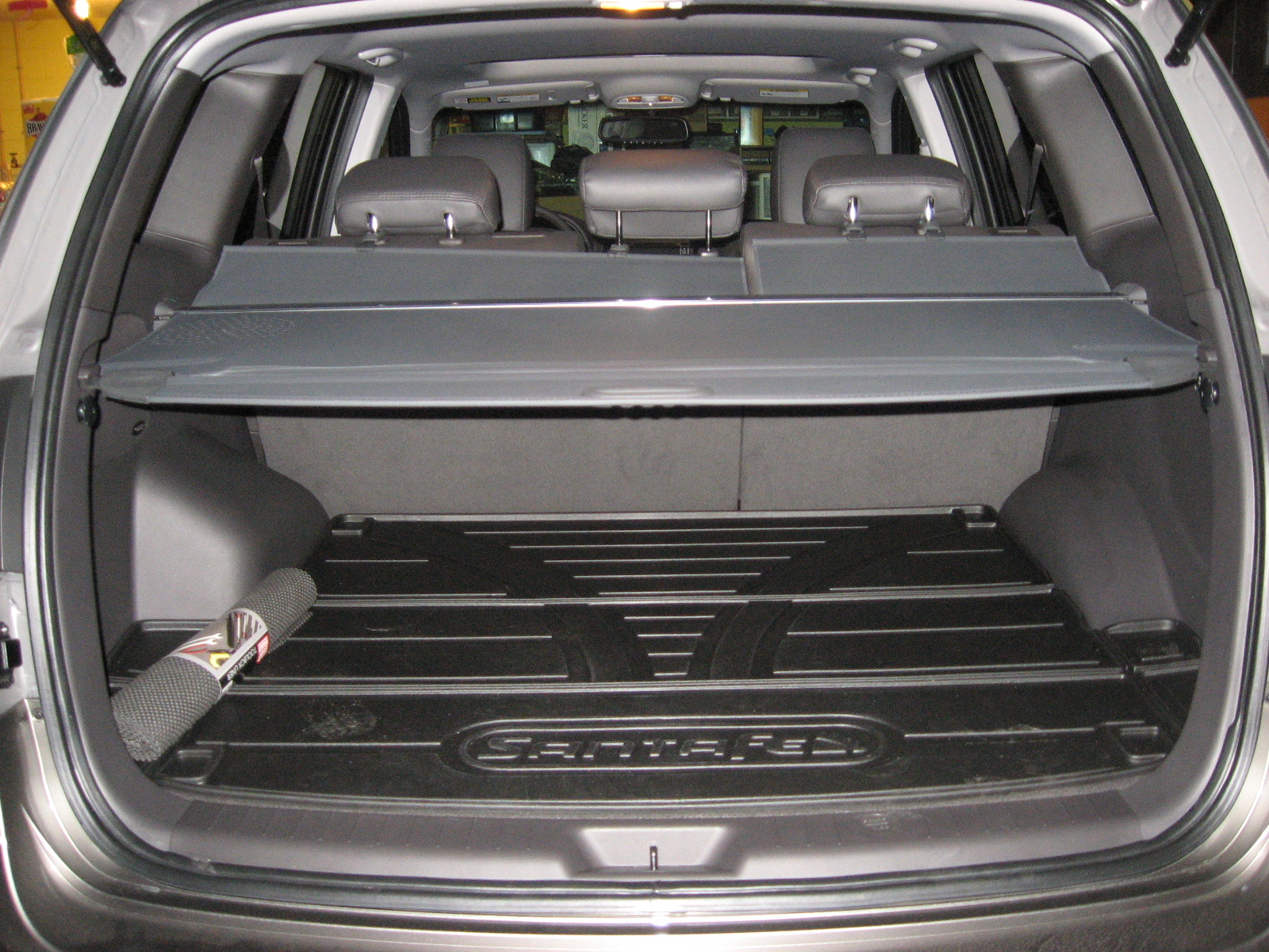 Cargo Screen For 2012 Santa Fe Hyundai Forums