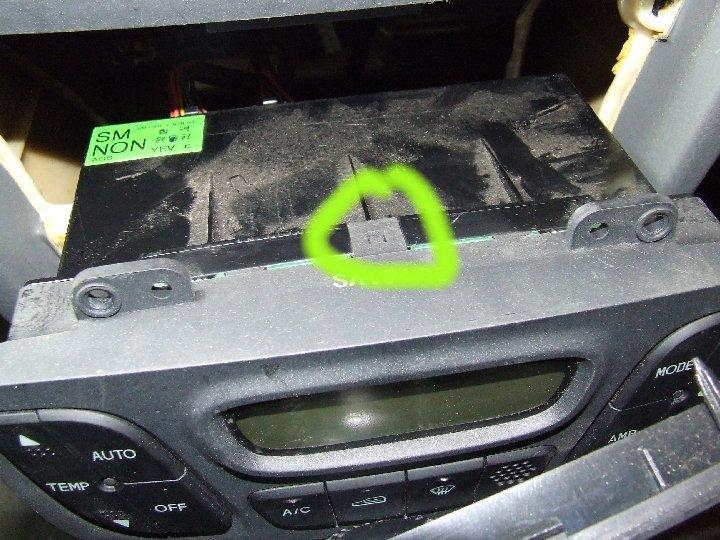 Climate Control Light replacement?   Hyundai Forums