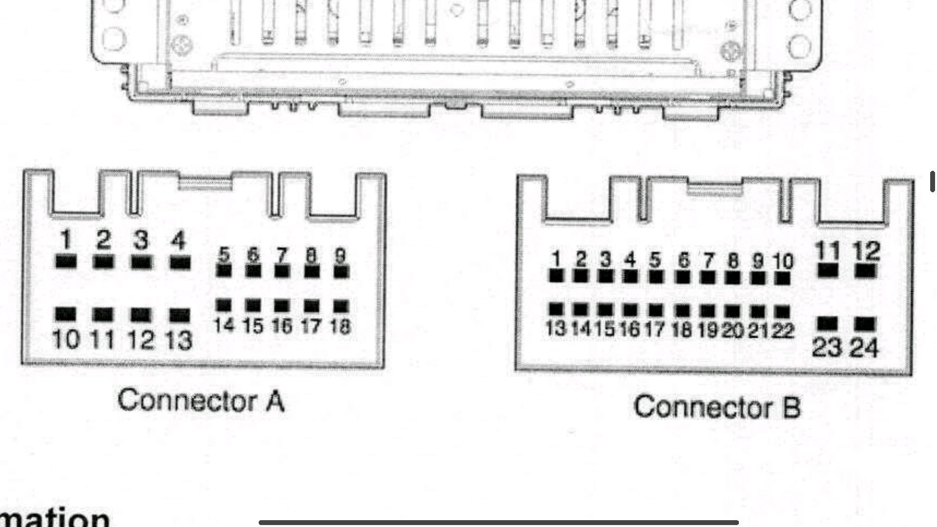 Hyundai Tucson radio 96170D70104X Wiring and connector diagram | Hyundai  Forums | Tucson Radio Wiring Diagram 2007 |  | Hyundai Forums
