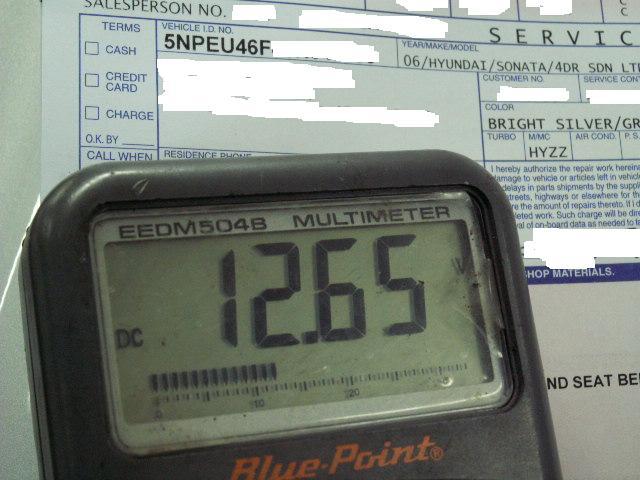 2004 Hyundai Santa Fe Windshield Washer Pump