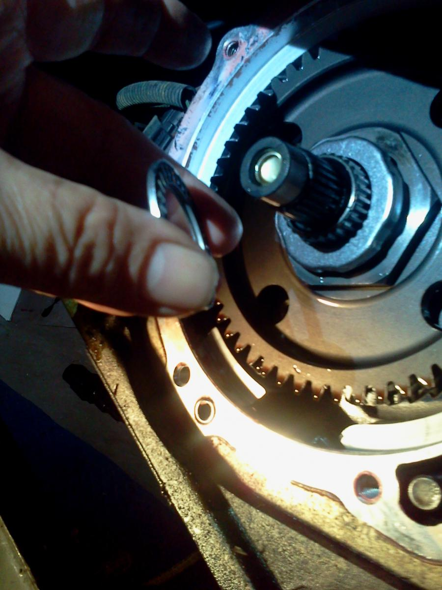 Guide-Repair:Overdrive/4TH gear loss or slipping,no CEL or