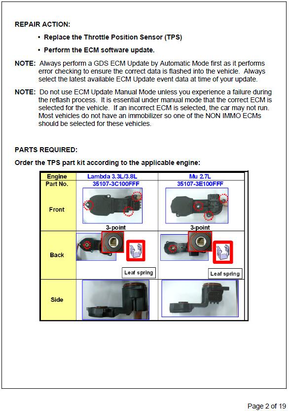2007 SF  Engine light and eratic idle | Hyundai Forums