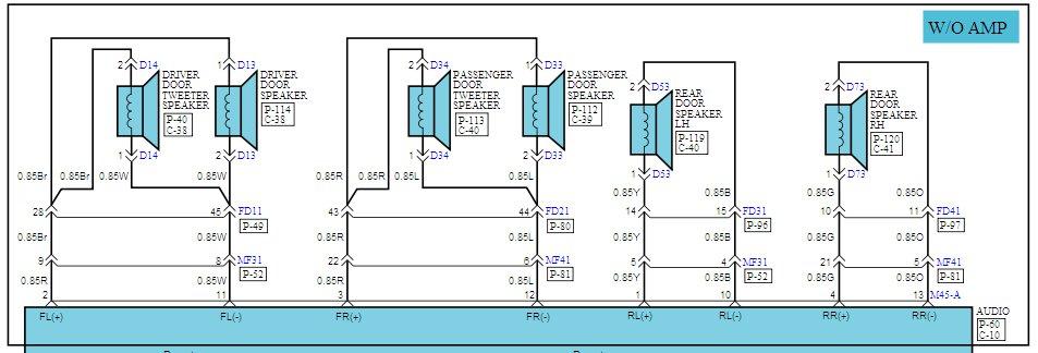 Diy - Aftermarket Sub/amp Install   Hyundai Forums Scosche Loc Wiring Diagram on