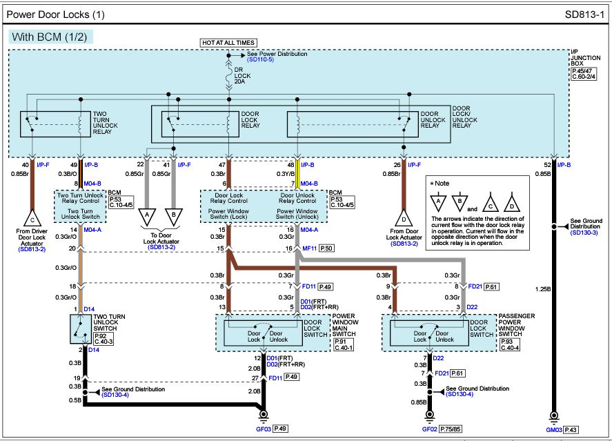 Keyless entry | Hyundai Forums | Hyundai Accent Central Locking Wiring Diagram |  | Hyundai Forums