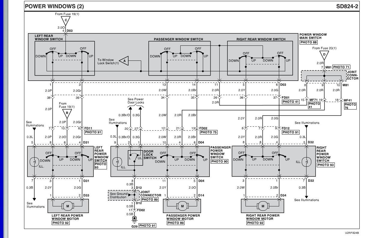 Power Window rear not working | Hyundai Forums | Hyundai Accent Power Window Wiring |  | Hyundai Forums