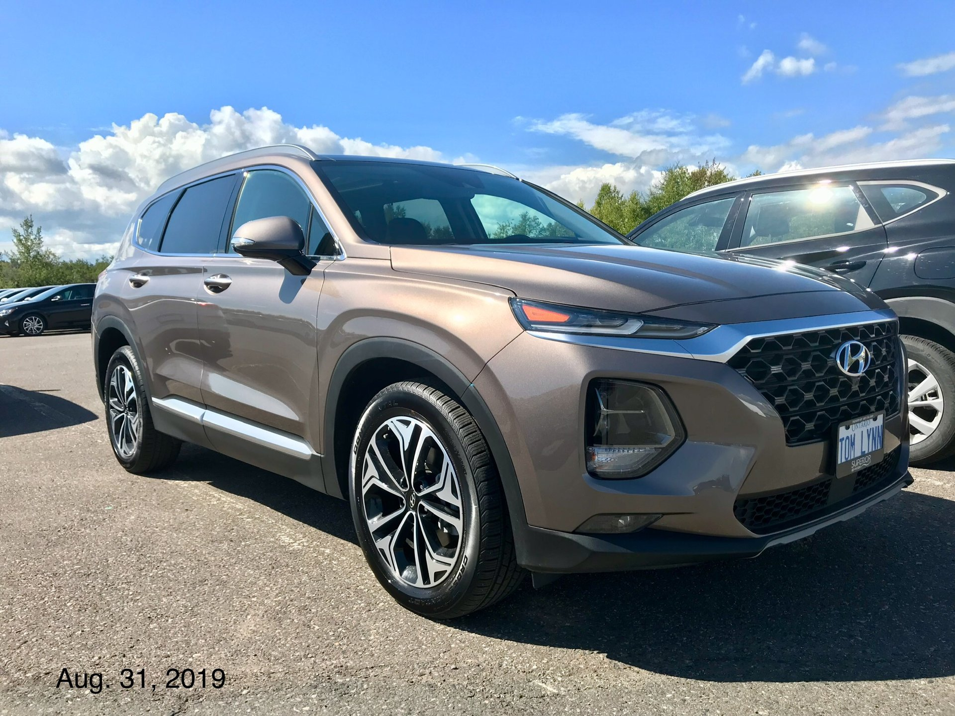 Showcase cover image for 2019 Santa Fe Ultimate (Earthy Bronze)