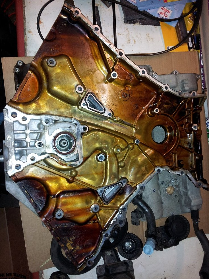 Replaced timing chain tensioners 3 3 V6 NF Sonata | Hyundai Forums