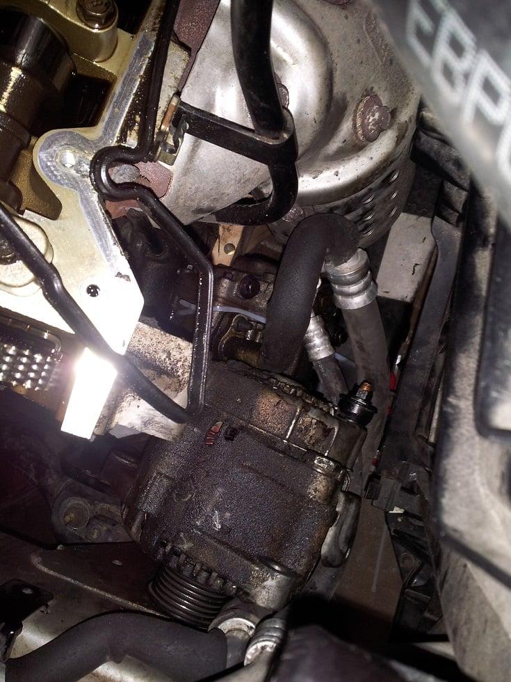 Replaced timing chain tensioners 3 3 V6 NF Sonata   Hyundai