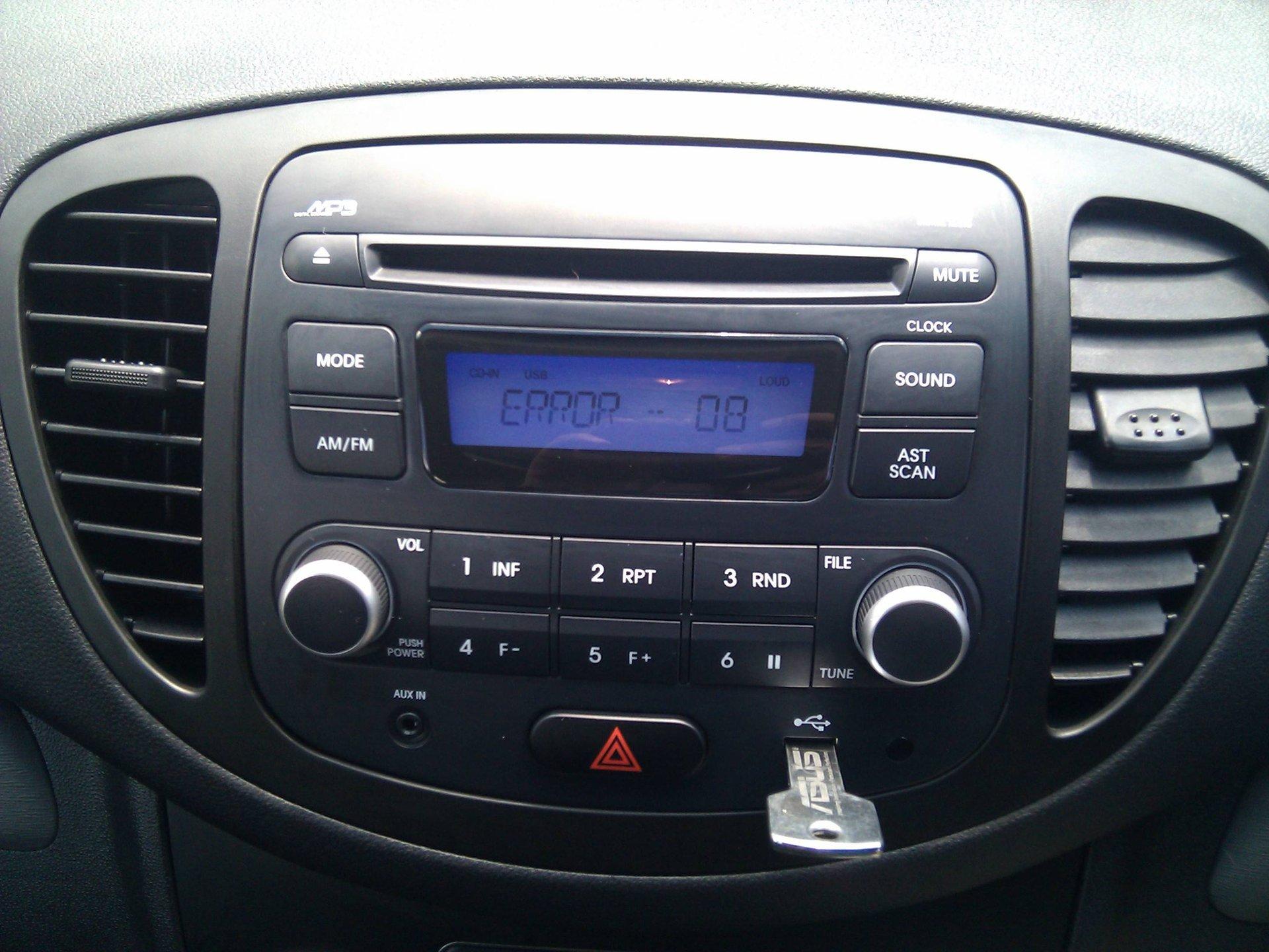 i10 USB Not Reading | Hyundai Forums