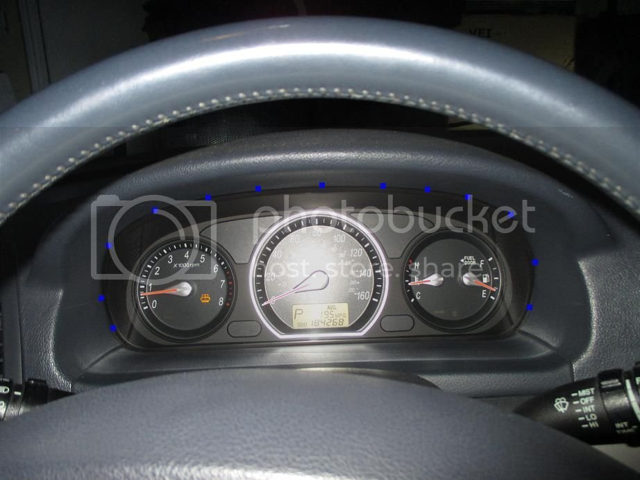 06-07 NF Sonata Gauge Cluster LED Swap (Write Up) + Gauge Platte