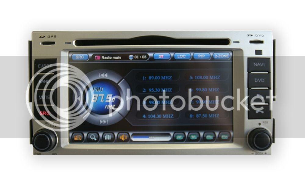 07 11 Sante Fe Gps Navigation Radio Hyundai Forums