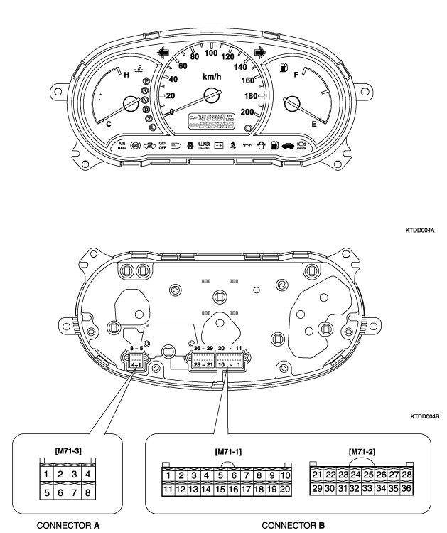 [SCHEMATICS_4FD]  hyundai accent 2003 1.3 12v instrument cluster pinout diagram. | Hyundai  Forums | 2006 Hyundai Accent Wiring Schematic |  | Hyundai Forums