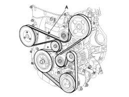 Serpentine Belt Routing Diagram for 2011 Hyundai Santa Fe