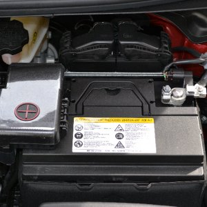 Elantra battery lid closed